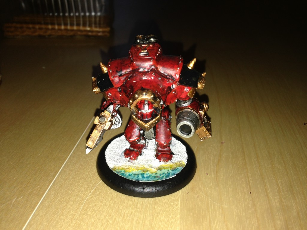 Khador warjack Destroyer