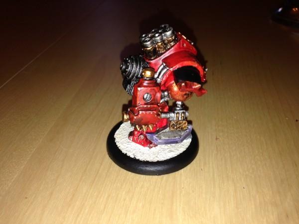 Khador warjack Juggernaut
