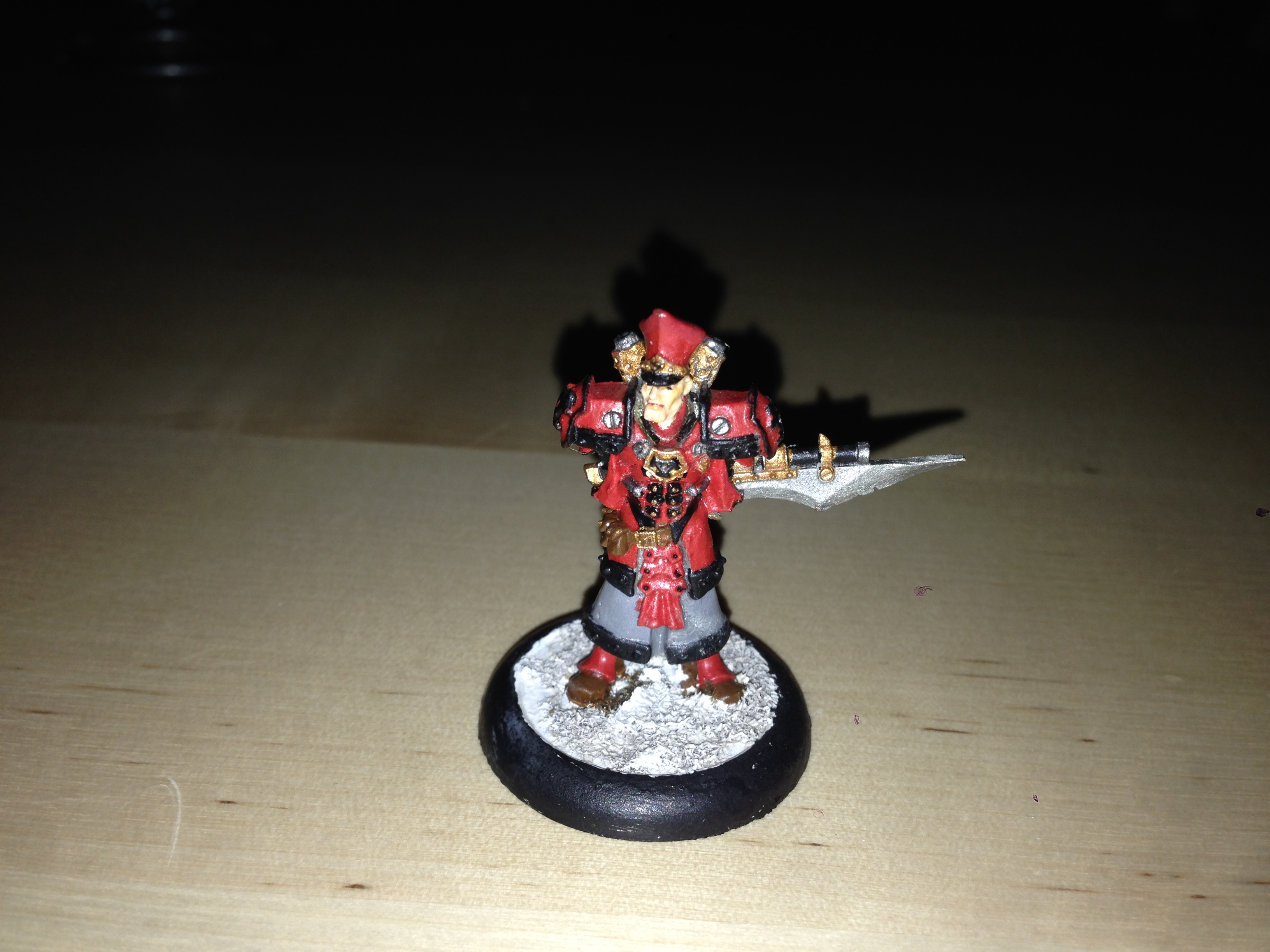 Khador Kommandant Irusk