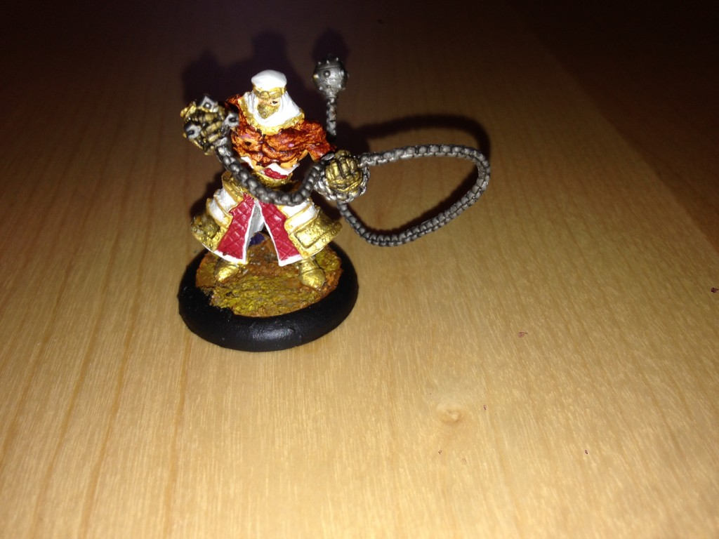 Warmachine: Protectorate of Menoth - High Allegiant Amon Ad'Raza