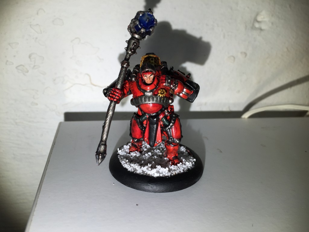 Warmachine: Khador - Man-O-War Demolition Corps Leader
