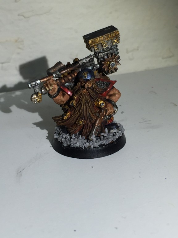 Dwarf Engineer / Duardin Cog Smith [WH:FB/AOS]