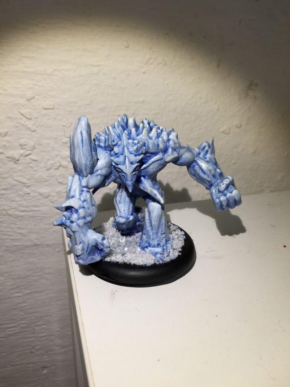 Arcanists - Ice Golem [Malifaux]