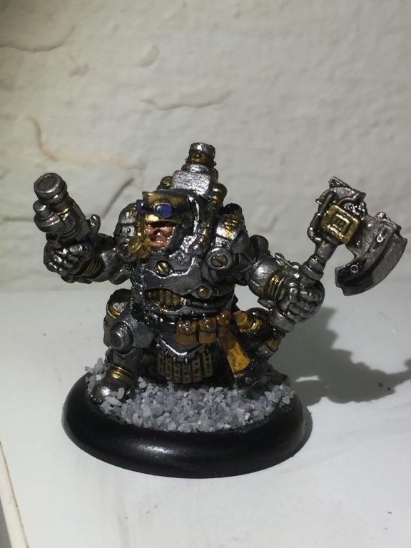 Warmachine: Mercenaries - General Ossrum