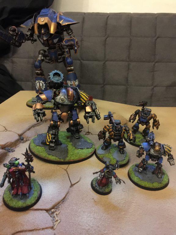 Mechanicum og battle board