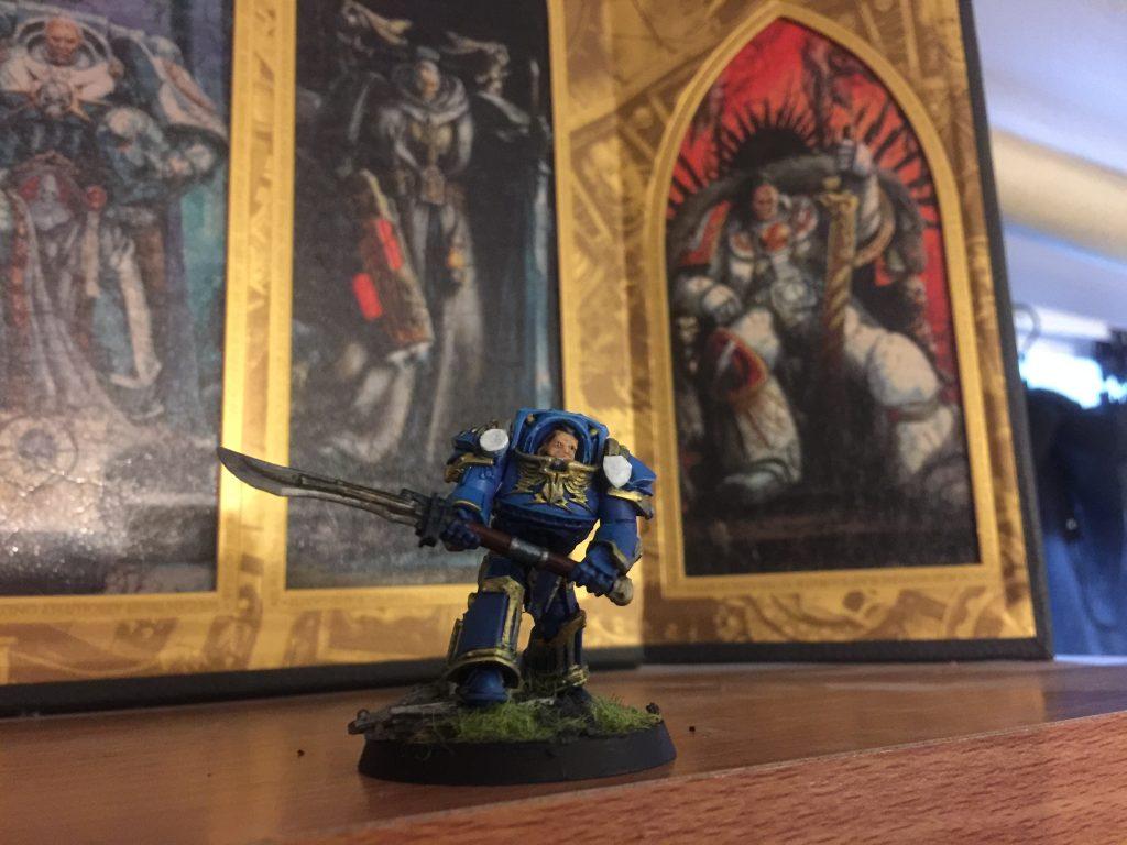 Ultramarines Legion Praetor Tribune [30k]