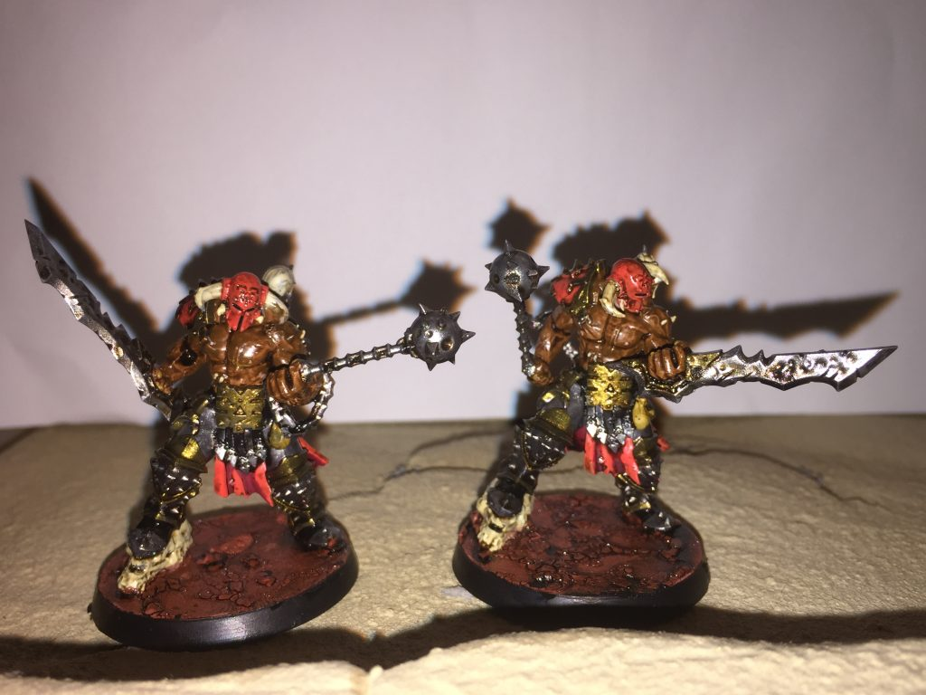 Slaughterpriests with Hackblade and Wrath-hammer [AoS]