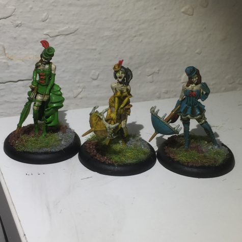 Resurrectionists: Rotten Belles [Malifaux]