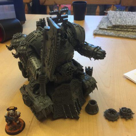 Khorne Lord of Skulls endelig samlet færdig