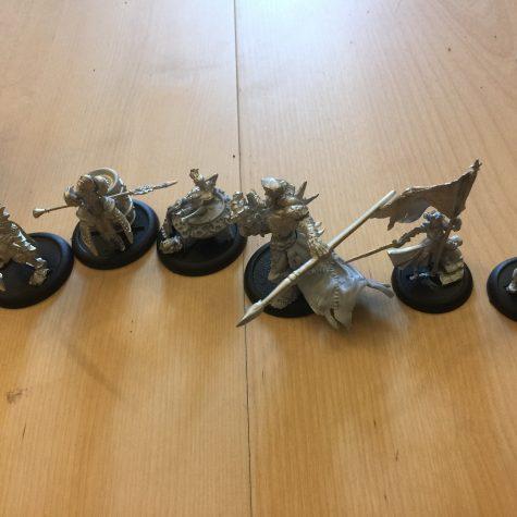 Jeg har samlet lidt WarmaHordes figurer i dag
