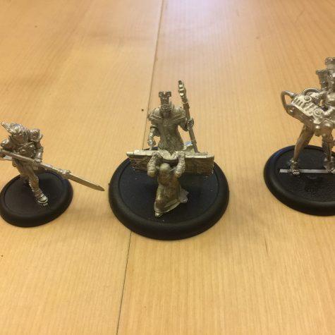 Jeg har samlet lidt flere WarmaHordes figurer i går