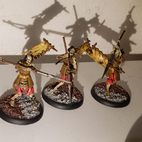 Resurrectionists/Ten Thunders - Ashigaru [Malifaux]