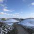 Stige Ø med sne