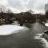 Is i Odense Å ved Munke Mose
