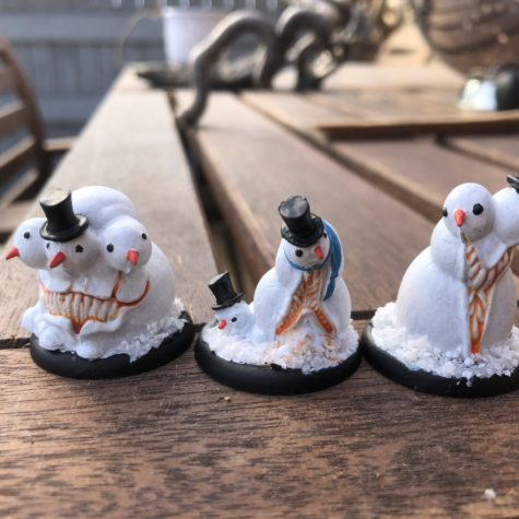 Arcanists – Wicked Snowmen / Ice Gamin [Malifaux]
