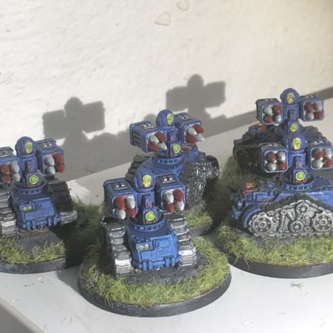 Mini robot tanks
