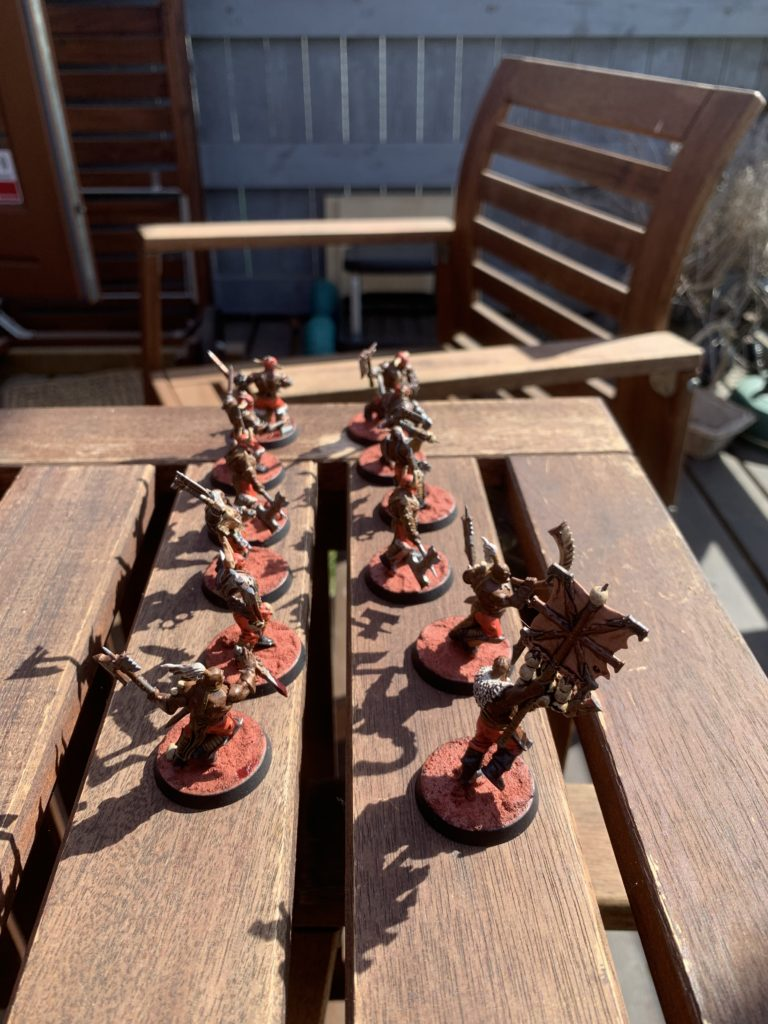 12x Khorne Bloodreavers [Age of Sigmar]