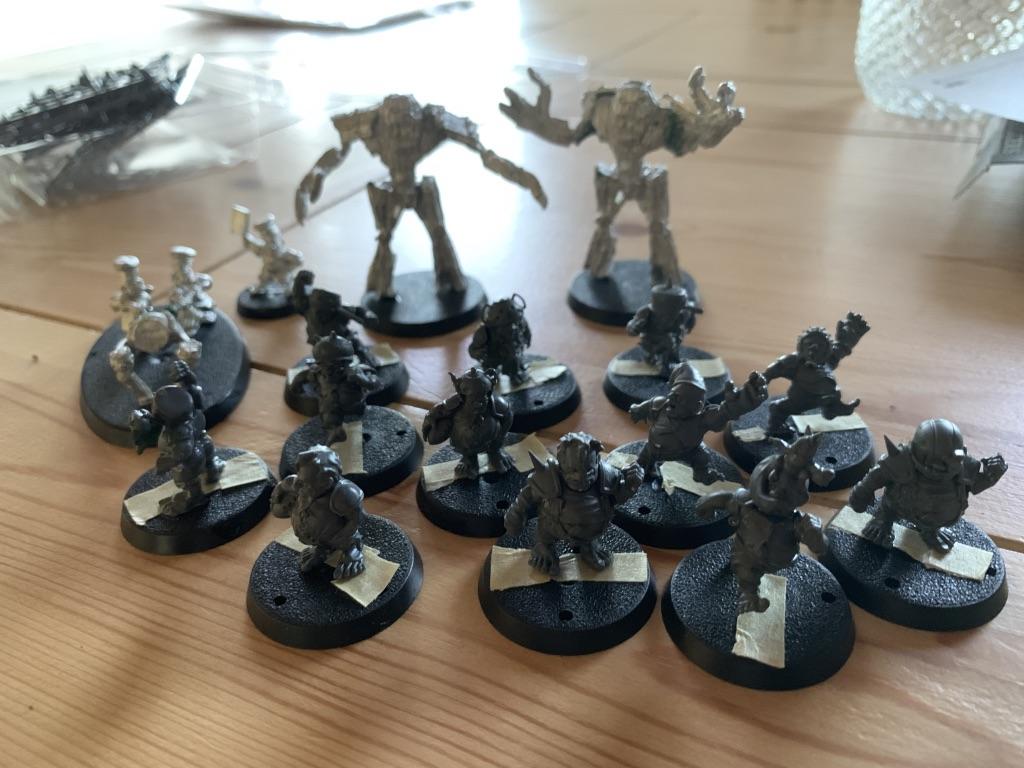 Cloverfield Stompers [BloodBowl] spillere samlet