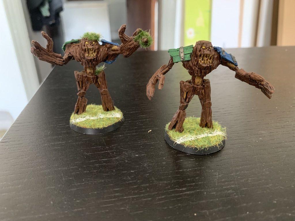Cloverfield Stompers Treemen [BloodBowl]