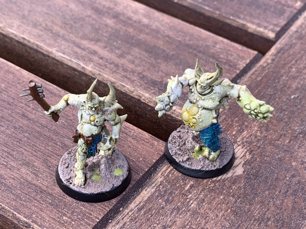 Plague Zombies [Warhammer 40.000]