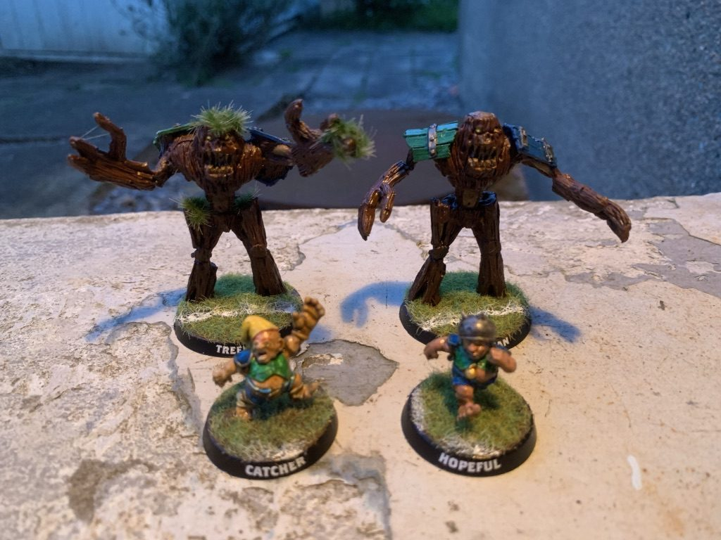 Cloverfield Stompers [BloodBowl] so far