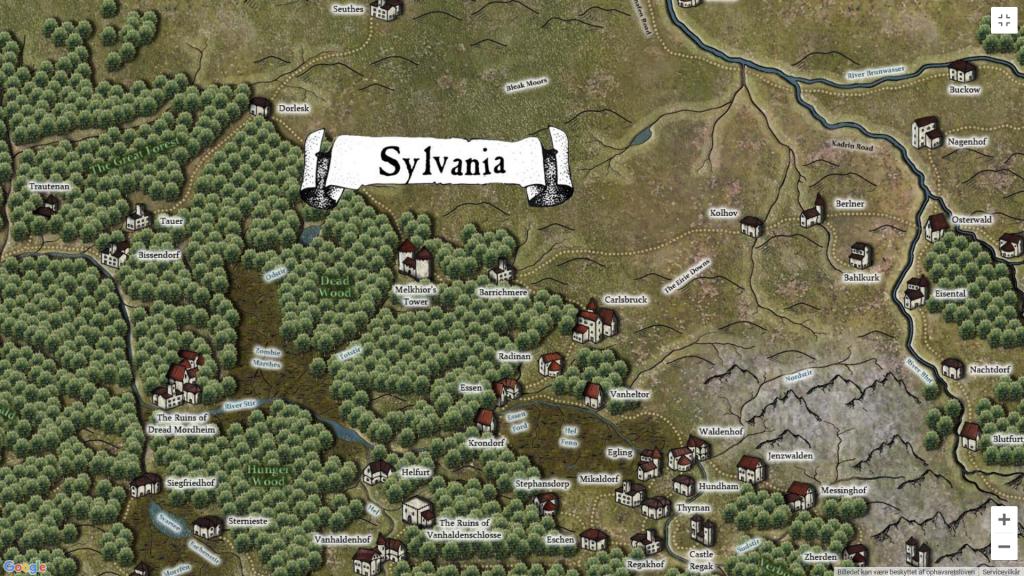 Barrichmere i Sylvania