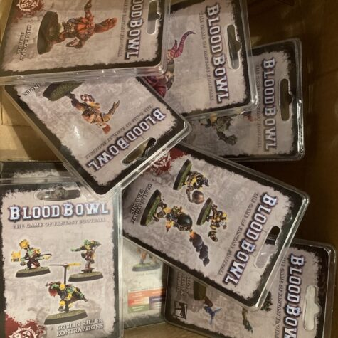 Blood Bowl Star Players og Nurgle hold