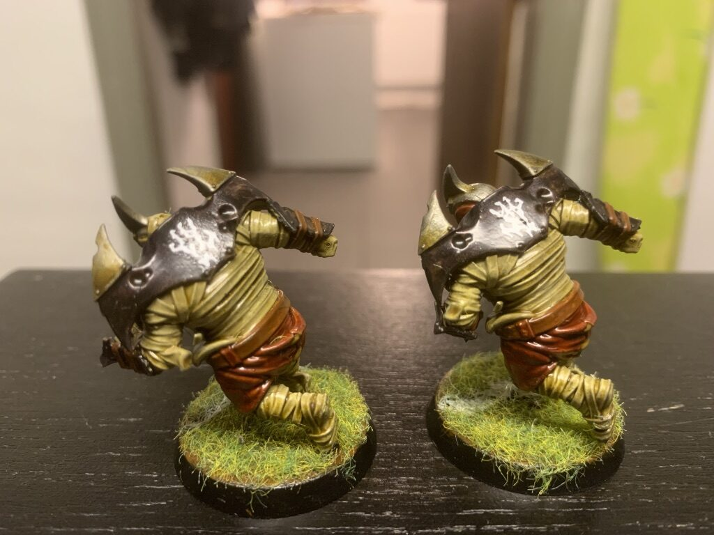 Mumier, Barrichmere Barrowgeists, Shambling Undead [Blood Bowl]