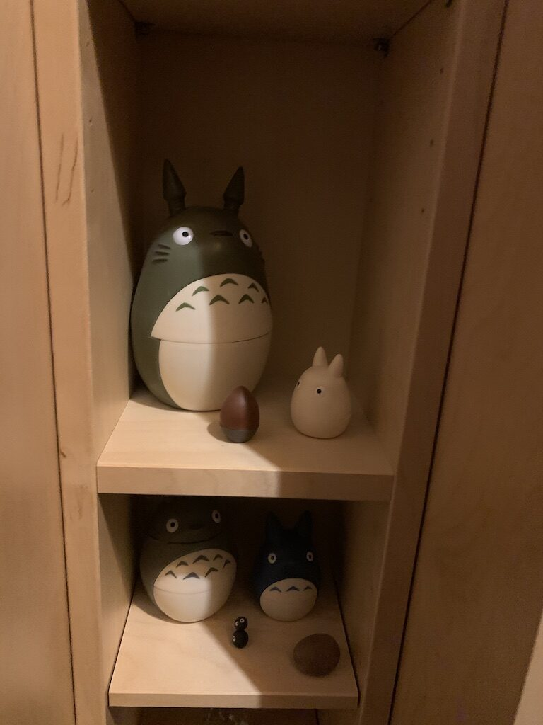 Totoro matroyska dukker