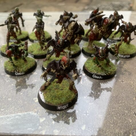 Barrichmere Barrowgeists, Shambling Undead [Blood Bowl] samlet