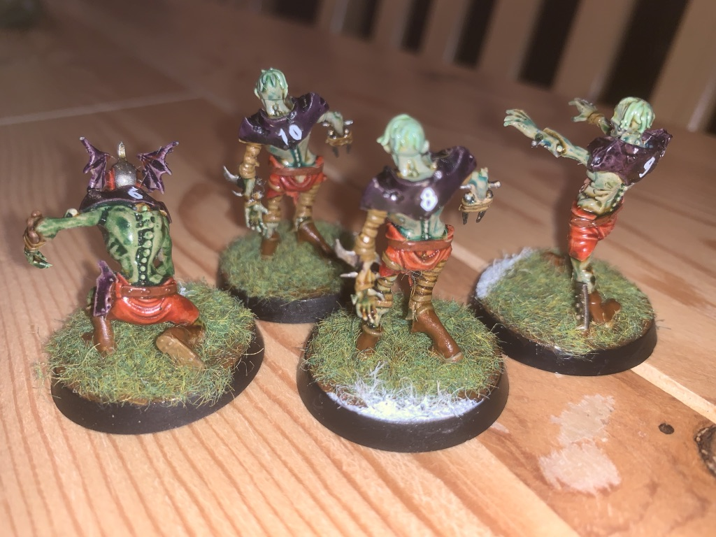 Ghoul og Zombies, Barrichmere Barrowgeists, Shambling Undead [Blood Bowl]