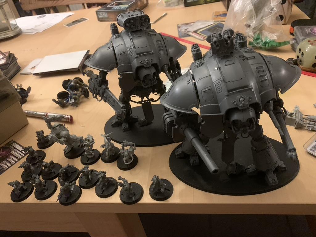 Blood Bowl Goblins og 40k Knights