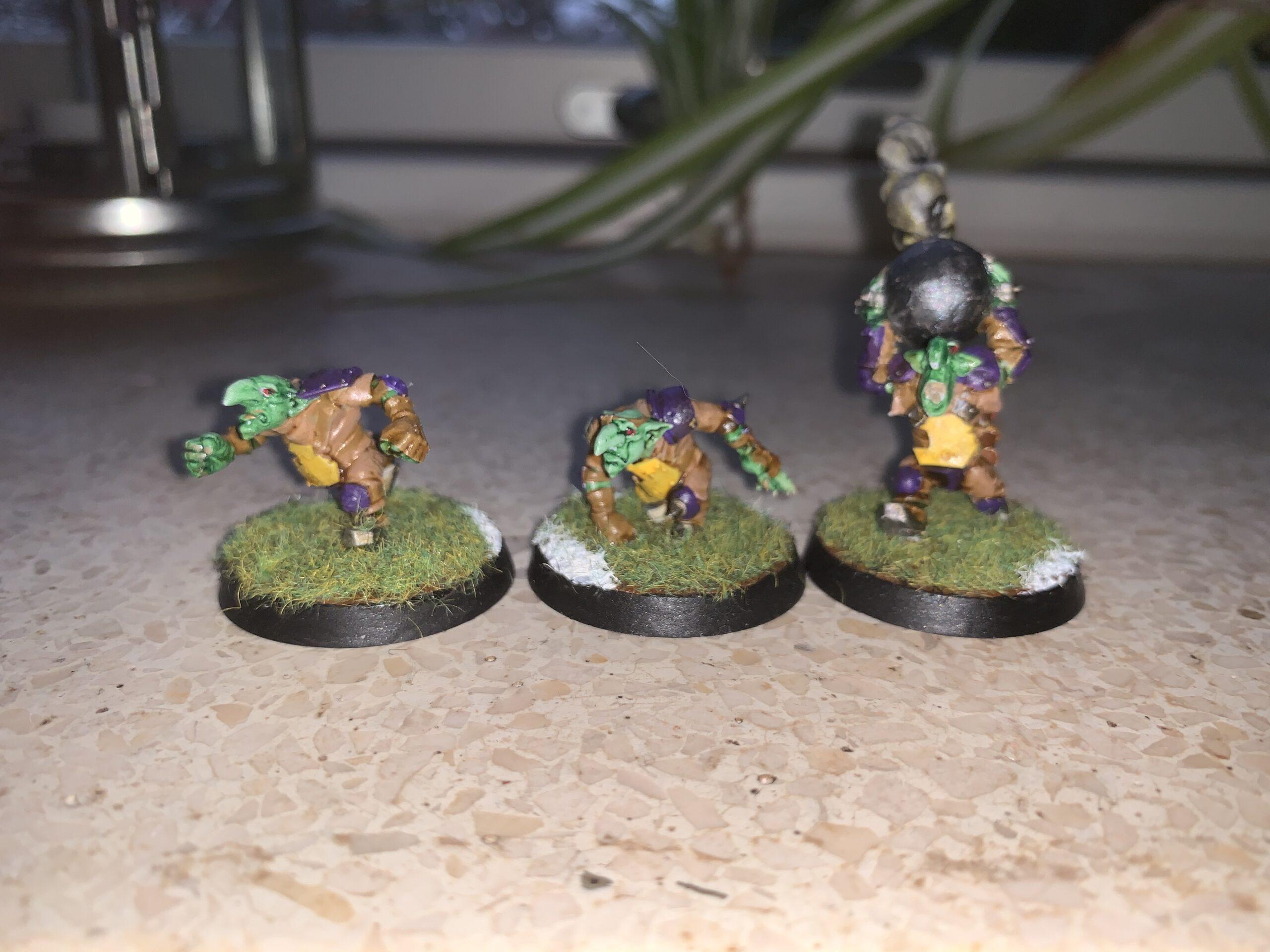 Goblins med Bommer [Blood Bowl]