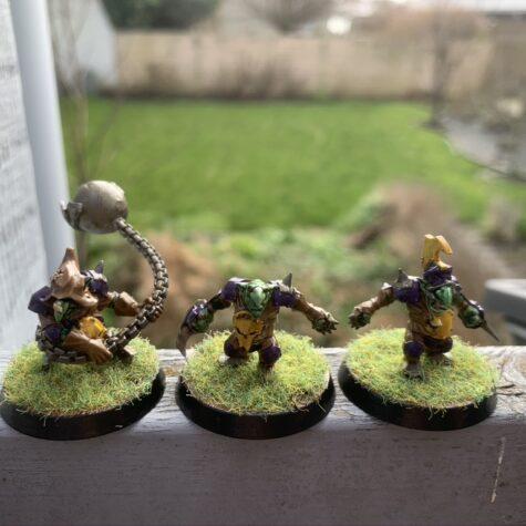 Goblins med Fanatic [Blood Bowl]