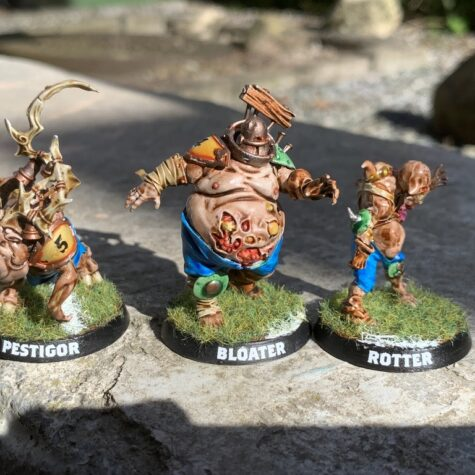 Pestigor, Bloater og Rotter, Pradeshynya Postules, Nurgle Rotters [Blood Bowl]