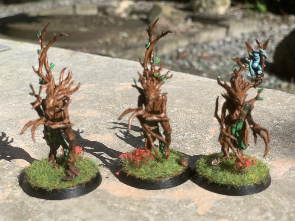 3 Sylvaneth Dryads mere [Age of Sigmar]