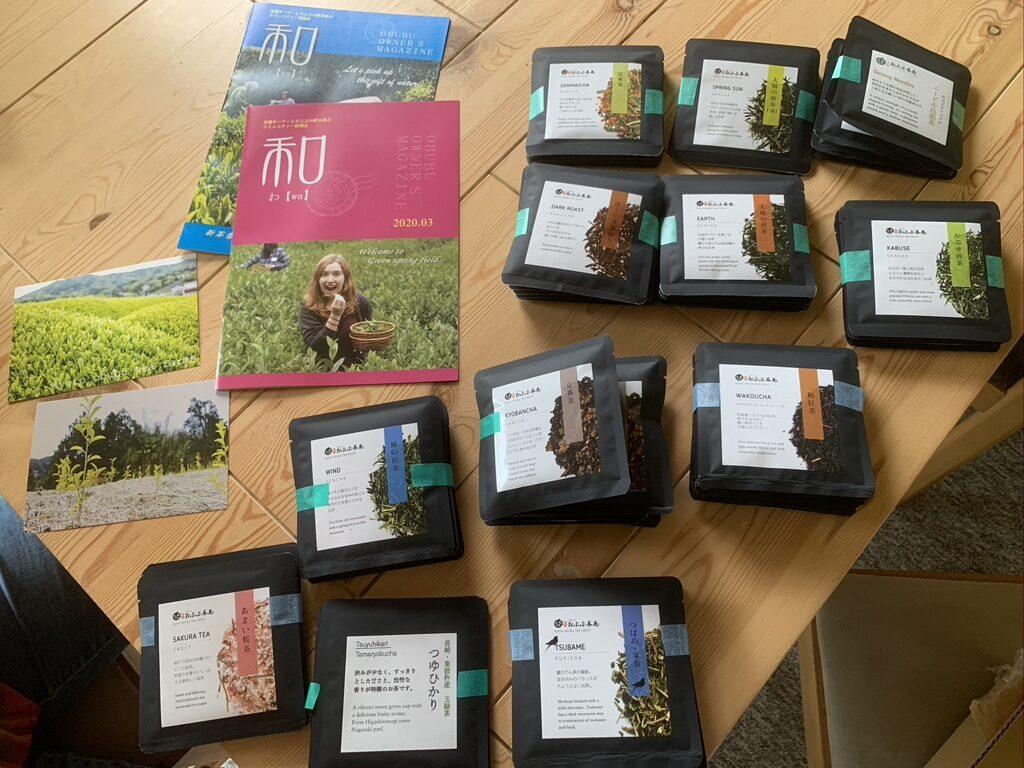 Forårets te fra vores te-farm