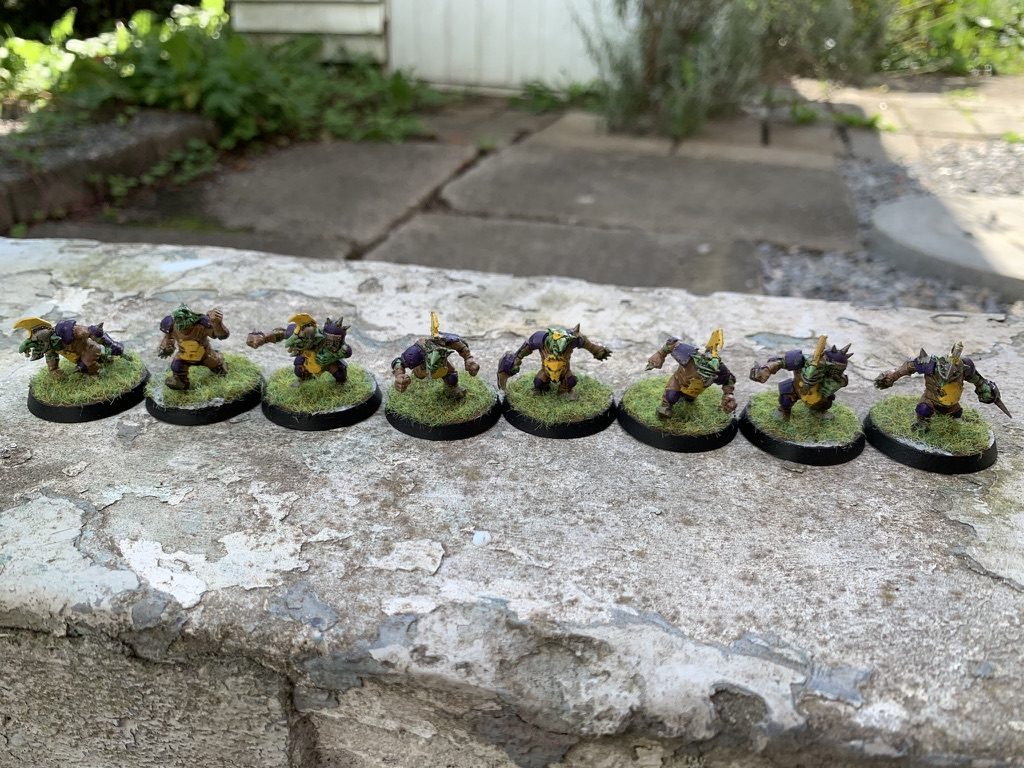 Goblins, Purple Bruizas, Goblin Team [Blood Bowl]