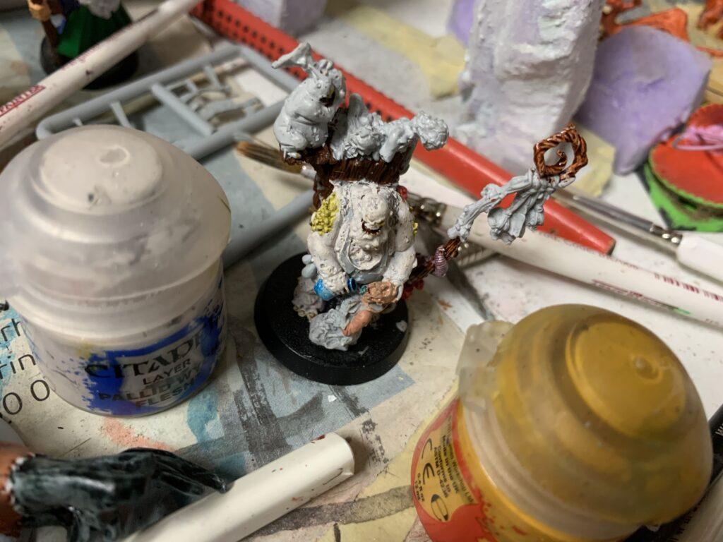 Warhammer Festus (bruges som Blood Bowl læge til Nurgle holdet)
