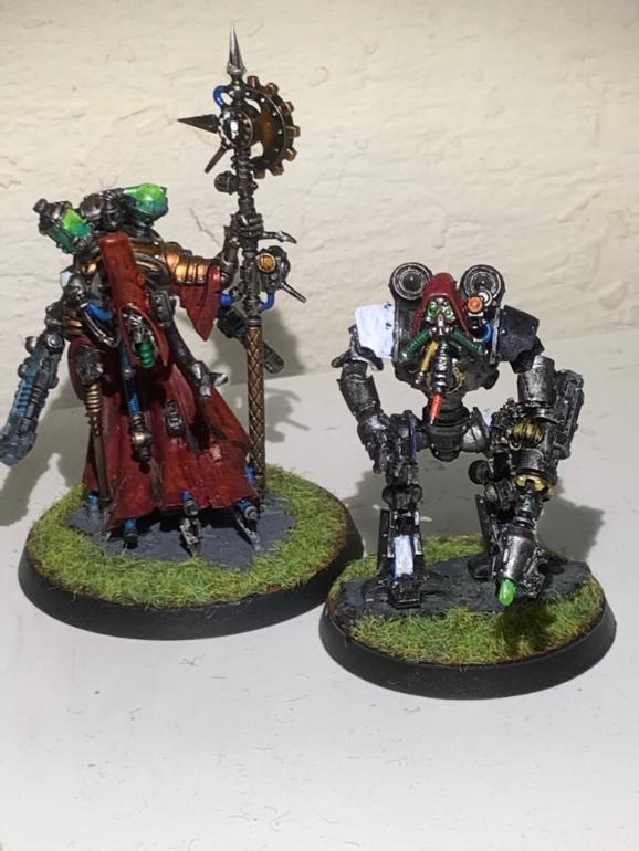 Mechanicum Magos og Thallax leder genmalet [30k]