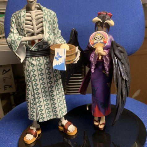 Overlord - Ainz og Albedo i yukata onsen outfits færdige figurer