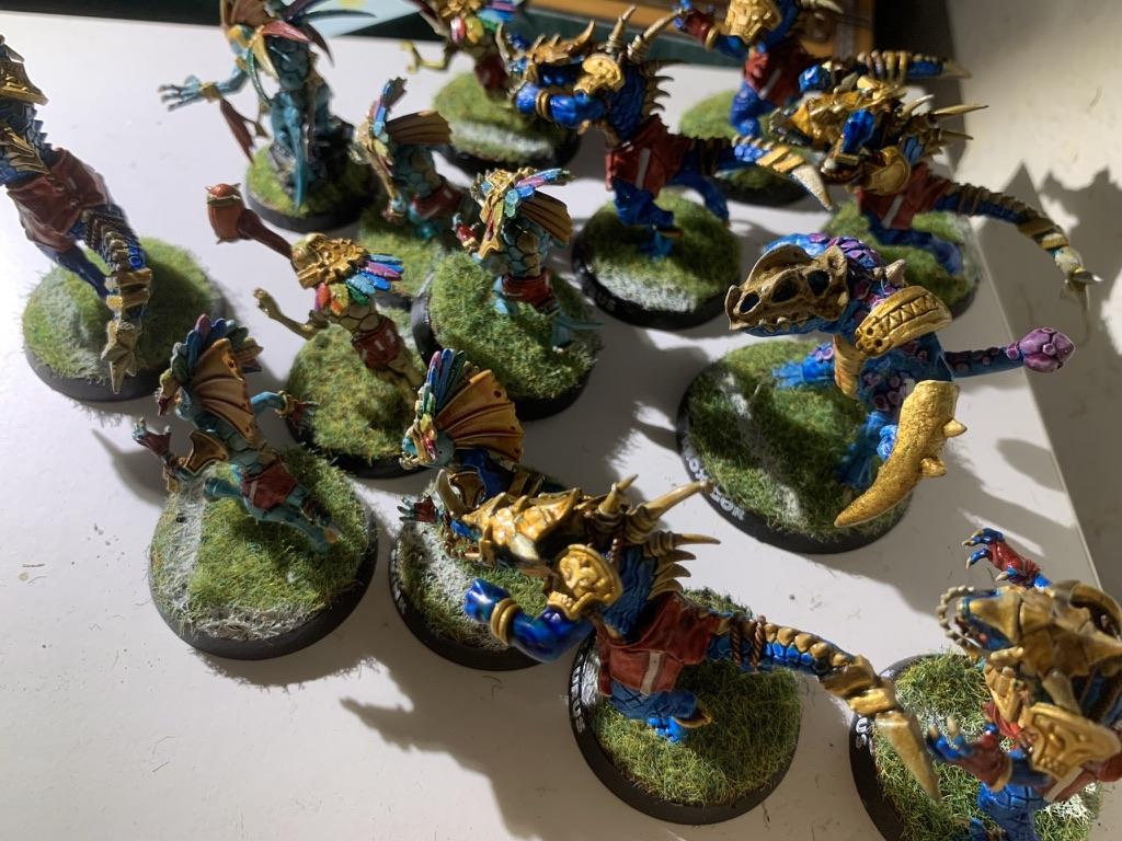 Gwangee Gogetters, Lizardmen Team [BloodBowl]