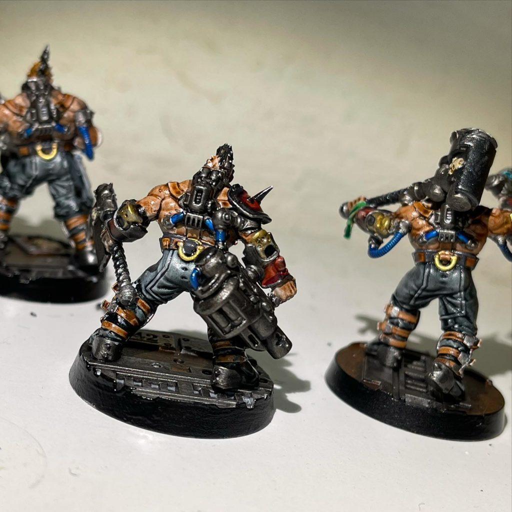 Tre Goliath Gangers [Necromunda]