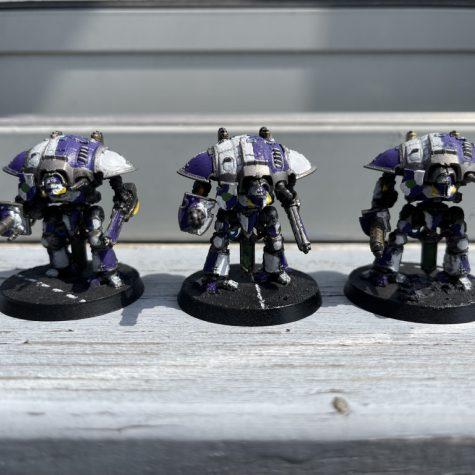 Beaumaris Questoris Knights [Adeptus Titanicus]